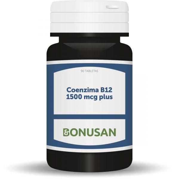 Coenzima B12 1500 mcg plus